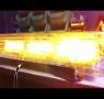 Светодиодная световая балка LBUT-E202, желтая (оранжевая)